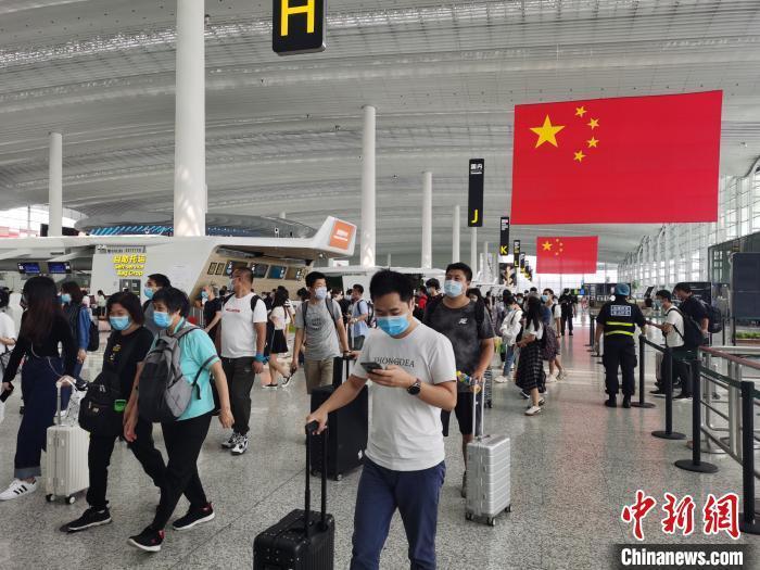 广州白云机场资料图。
