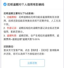 花呗接入央行征信 全部用户群将分批陆续覆盖