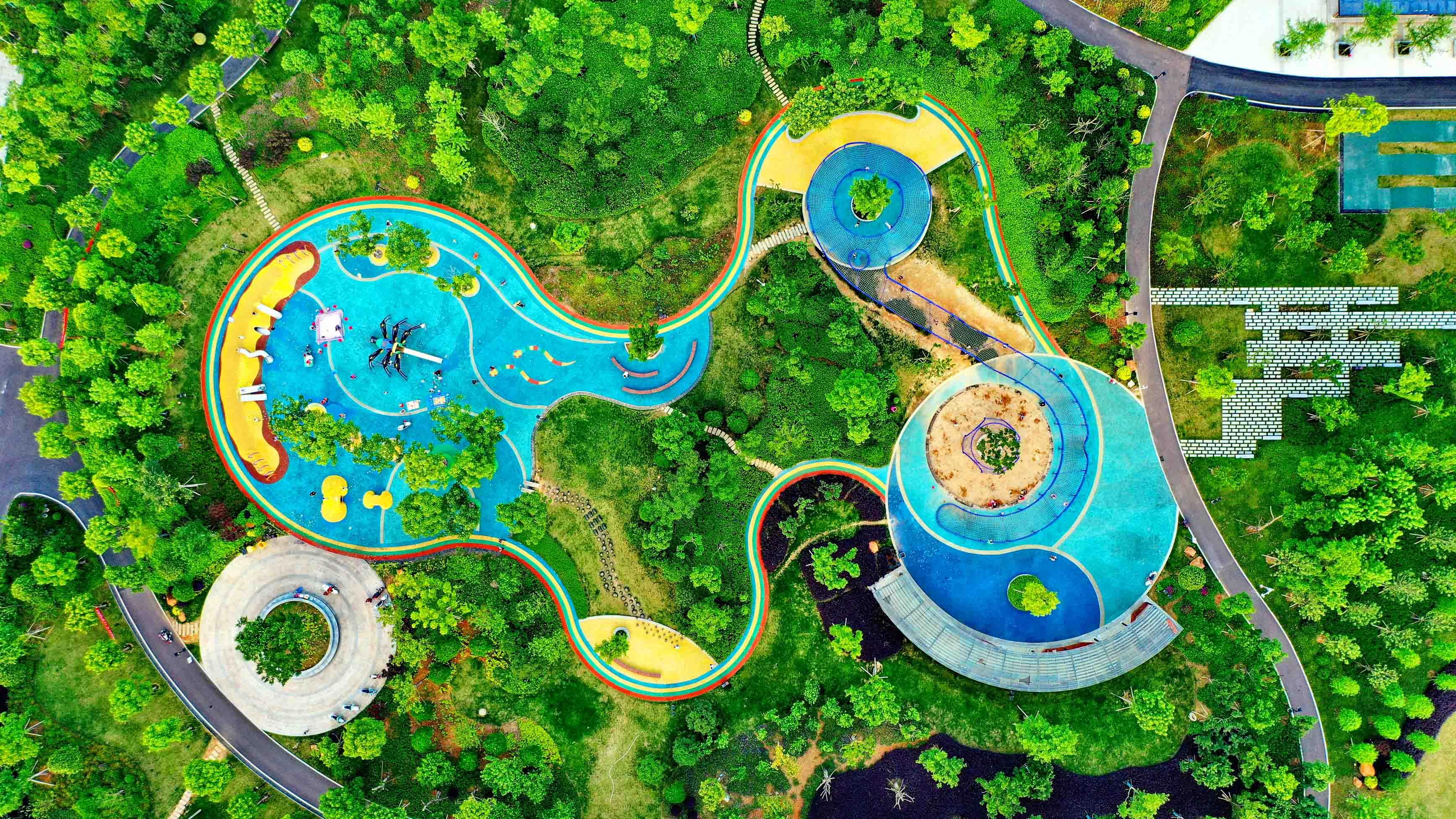 【组图】江西会昌:湿地公园生态美